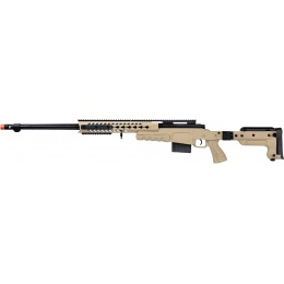 WellFire MB4418-3 Bolt Action Airsoft Sniper Rifle - TAN
