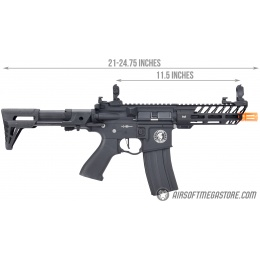 Lancer Tactical ProLine NEEDLETAIL PDW AEG [LOW FPS] - BLACK