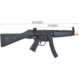 Elite Force H&K MP5A4 Metal AEG Airsoft Gun by Umarex - BLACK