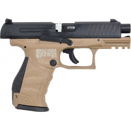 Umarex T4E Walther PPQ .43 Cal Paintball Pistol - BLACK/DARK EARTH