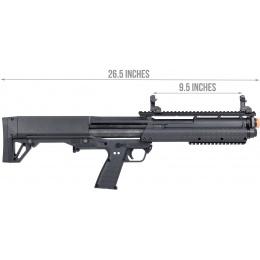 Tokyo Marui KSG Pump Action Gas Airsoft Shotgun [Multi-Shot] - BLACK