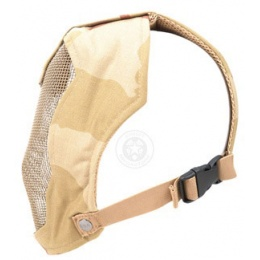 Black Bear RAMPAGE 1000D Steel Mesh Airsoft Face Mask - 3 COLOR DESERT
