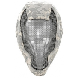 Black Bear RAMPAGE 1000D Steel Mesh Full Face Airsoft  Mask - ACU