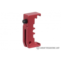 Airsoft Masterpiece Aluminum Puzzle Trigger Base - RED