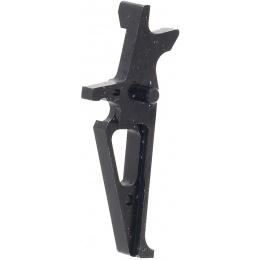 Retro Arms CNC Aluminum Trigger for M4 / M16 AEG Rifles (Type B) - BLACK