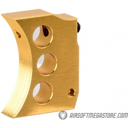 Airsoft Masterpiece Aluminum Trigger Type 4 for Hi-Capa Pistols - GOLD