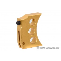 Airsoft Masterpiece Aluminum Trigger Type 4 for Hi-Capa Pistols - GOLD