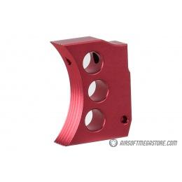 Airsoft Masterpiece Aluminum Trigger Type 4 for Hi-Capa Pistols - RED