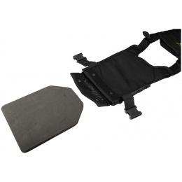 Flyye Industries 1000D Cordura MOLLE PC Plate Carrier (LRG) - BLACK