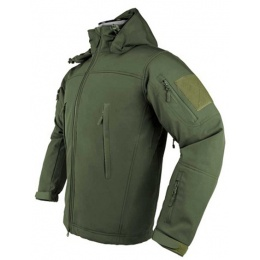 NcStar VISM Delta Zulu Polyester Fleece Jacket (4X-LARGE) - GREEN