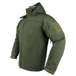 NcStar VISM Delta Zulu Polyester Fleece Jacket (SMALL) - GREEN