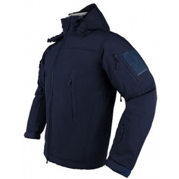 NcStar VISM Delta Zulu Polyester Fleece Jacket (MEDIUM) - NAVY BLUE