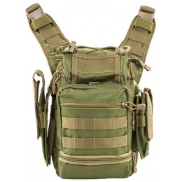 NcStar VISM First Responders Utility Bag - GREEN / TAN