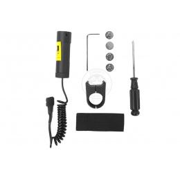Metal Premium Adjustable Tactical Laser Unit - Weaver Mount Included