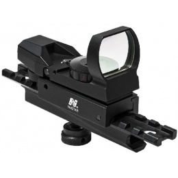 NcStar AR Carry Handle & Red/Green Reflex Sight w/ 4 Reticles