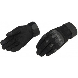 Lancer Tactical Airsoft Hard Knuckle Gloves - BLACK
