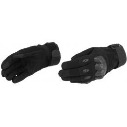 Lancer Tactical Airsoft Hard Knuckle Gloves - BLACK