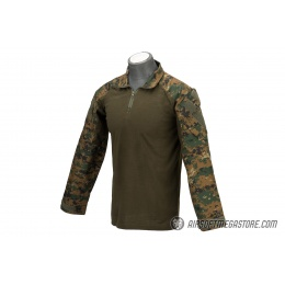 Lancer Tactical Airsoft BDU Combat Shirt [XXL] - JUNGLE DIGITAL