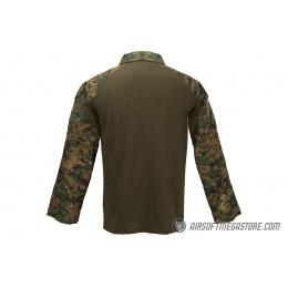 Lancer Tactical Airsoft BDU Combat Shirt [XXL] - JUNGLE DIGITAL
