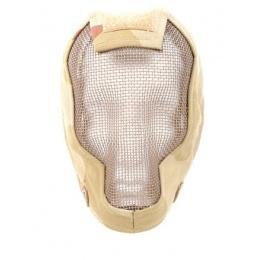 Black Bear Airsoft RAZOR Steel Mesh Face Mask - 3 Color Desert