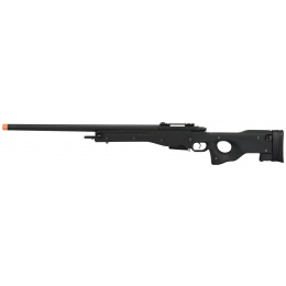 G&G G960 Bolt Action Green Gas Airsoft Sniper Rifle - BLACK