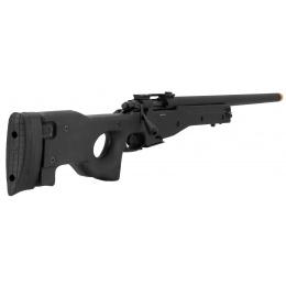 G&G G960 Bolt Action Green Gas Airsoft Sniper Rifle - BLACK