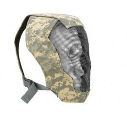 Black Bear Airsoft RAZOR 1000D Steel Mesh Full Face Airsoft Mask - ACU