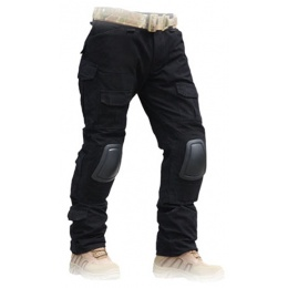 Lancer Tactical GEN 2 BDU Airsoft Combat Pants [Large] - BLACK