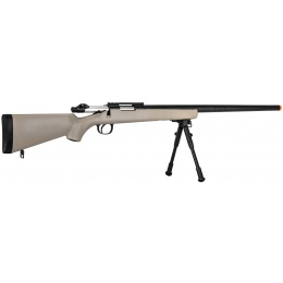 WellFire Airsoft VSR-10 Bolt Action Rifle W/ Optic RIS - TAN