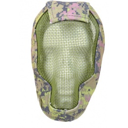 Black Bear Airsoft RAZOR Steel Mesh Face Mask - Canadian CADPAT