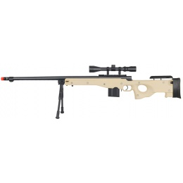 WellFire ShadowOps L96 AWP Bolt Action Airsoft Sniper Rifle - TAN