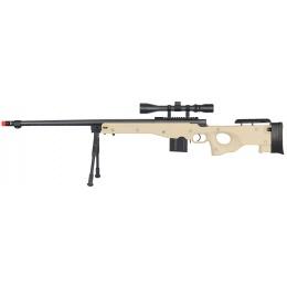 WellFire ShadowOps L96 AWP Bolt Action Airsoft Sniper Rifle - TAN