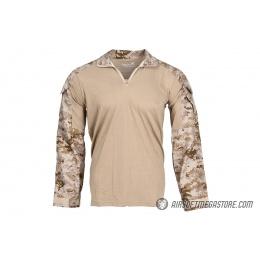 Lancer Tactical Combat Uniform BDU Shirt [Small]- DIGITAL DESERT