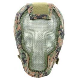 Black Bear RAZOR 1000D Steel Mesh Full Face Airsoft Mask - MARPAT