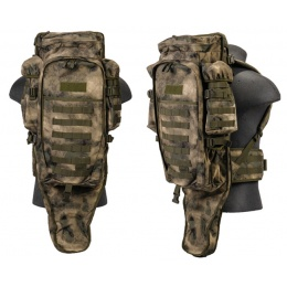 Lancer Tactical 600D Nylon Rifle Case Backpack - AT-FG