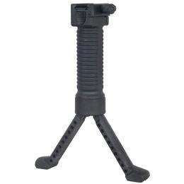 CYMA QD Vertical Tactical Bi-Pod Grip - BLACK