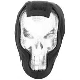 Black Bear RAZOR 1000D Steel Mesh Full Face Airsoft Mask - PUNISHER