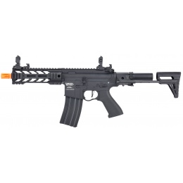 Lancer Tactical ProLine BATTLE HAWK PDW AEG [LOW FPS] - BLACK - w/ Deans Connector
