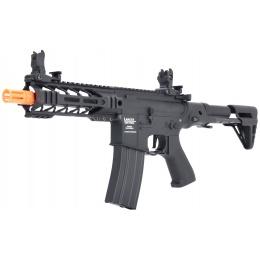 Lancer Tactical ProLine BATTLE HAWK PDW AEG [LOW FPS] - BLACK - w/ Deans Connector