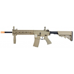 Lancer Tactical LT-12 Hybrid Gen 2 M4 EVO Airsoft AEG Rifle [HIGH FPS] - TAN