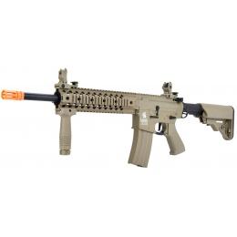 Lancer Tactical LT-12 Hybrid Gen 2 M4 EVO Airsoft AEG Rifle [HIGH FPS] - TAN
