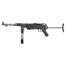 WWII Overlord Series MP40 Airsoft AEG Submachine Gun - BATTLEWORN STEEL
