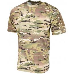 Lancer Tactical Airsoft Ripstop PC T-Shirt [Large] - CAMO