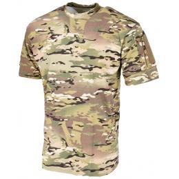 Lancer Tactical Airsoft Ripstop PC T-Shirt [Medium] - CAMO