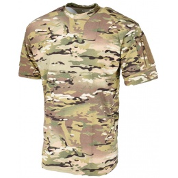 Lancer Tactical Airsoft Ripstop PC T-Shirt [Small] - CAMO