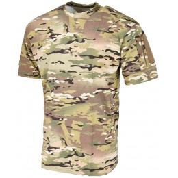 Lancer Tactical Airsoft Ripstop PC T-Shirt [XL] - CAMO
