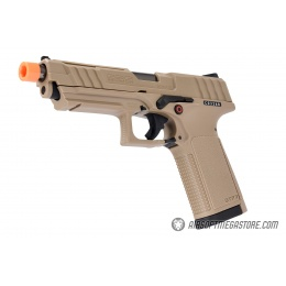 G&G GTP-9 Gas Blowback GBB Airsoft Pistol - DESERT TAN