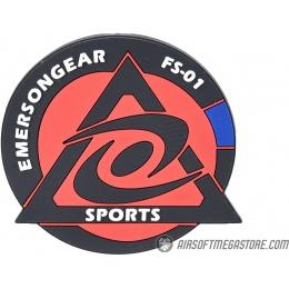 Emerson Gear Cyclone Sports PVC Morale Patch - BLACK