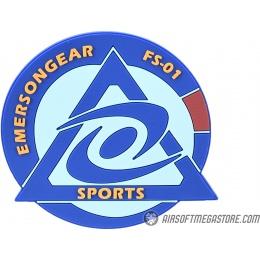 Emerson Gear Cyclone Sports PVC Morale Patch - BLUE