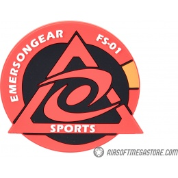 Emerson Gear Cyclone Sports PVC Morale Patch - RED